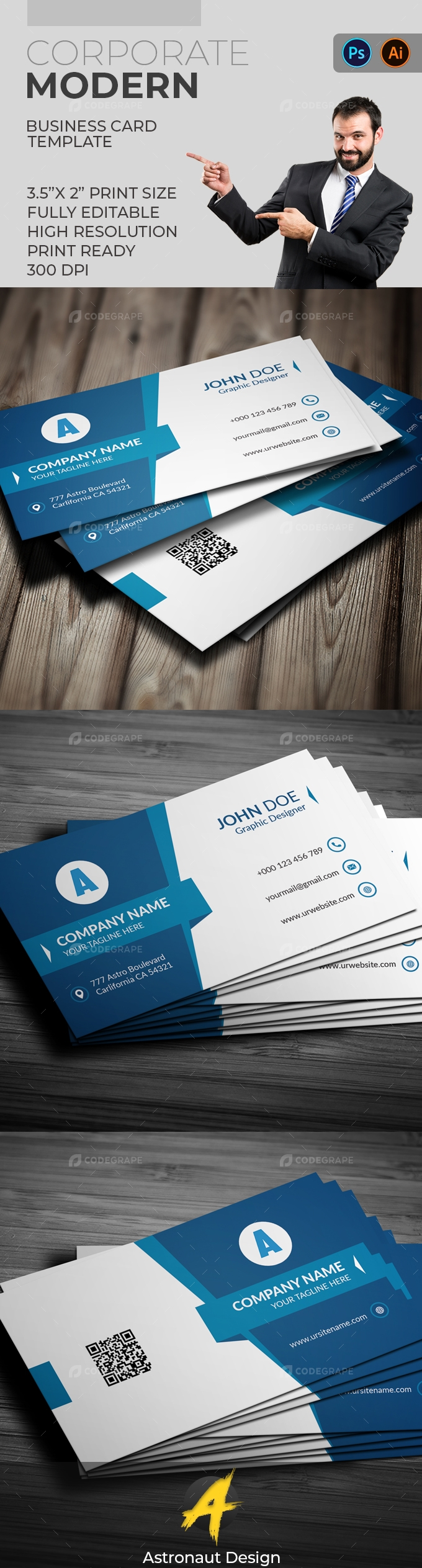 Corporate Business Card [VOL-16]