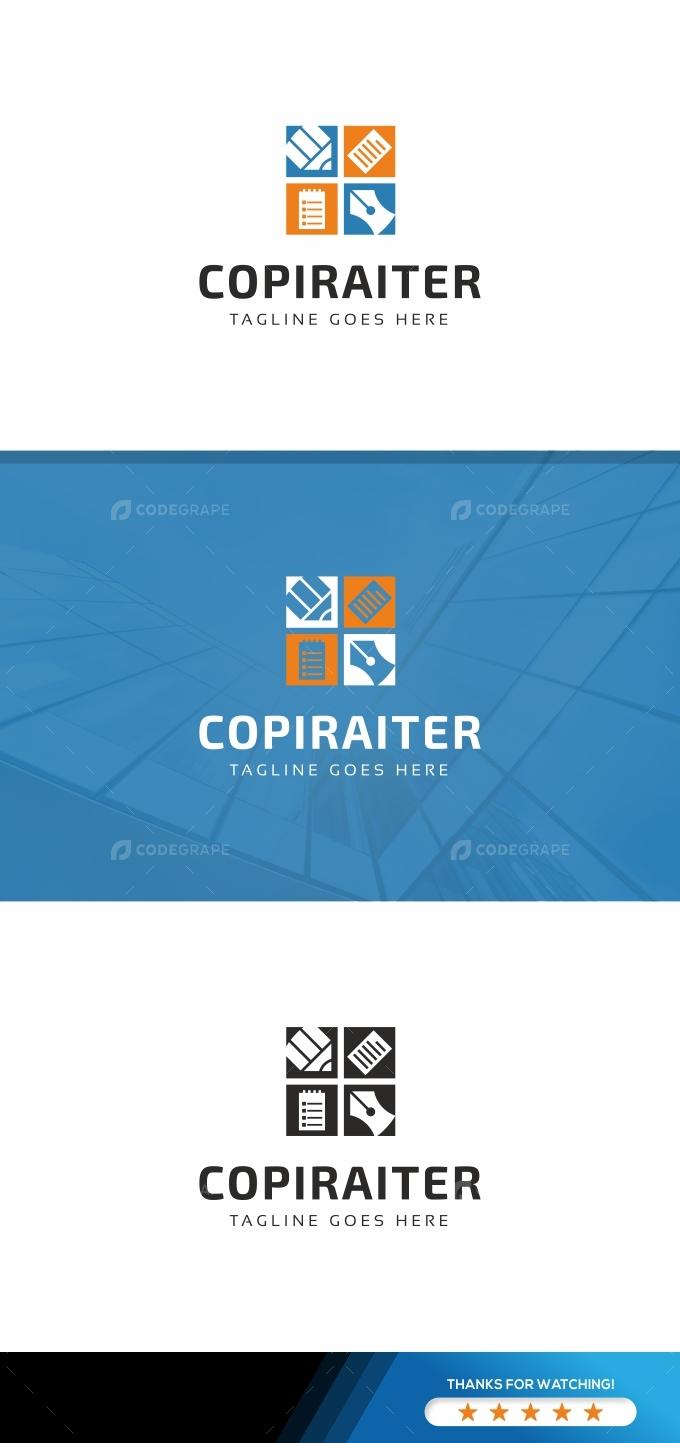 Copiraiter- Paper Pencil Logo