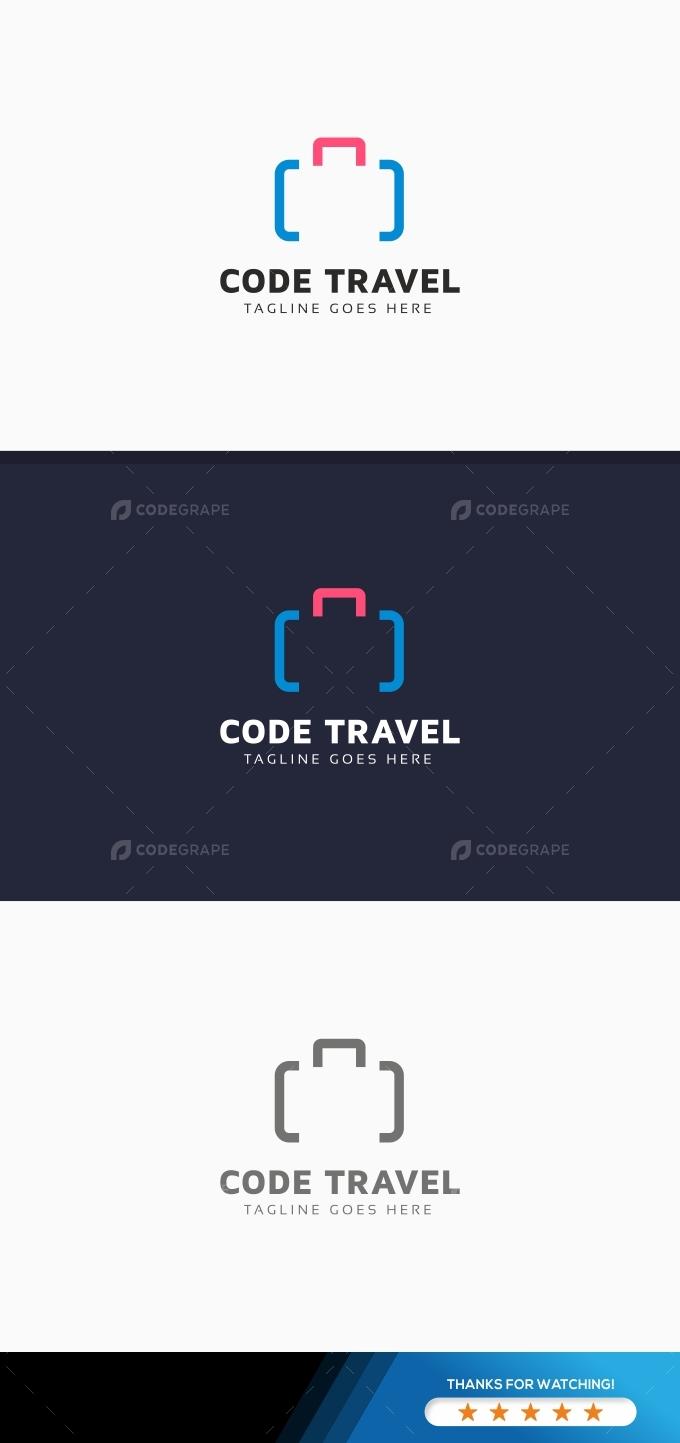 Code Travel Logo