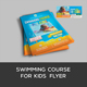 Swimming Course Flyer For Kids