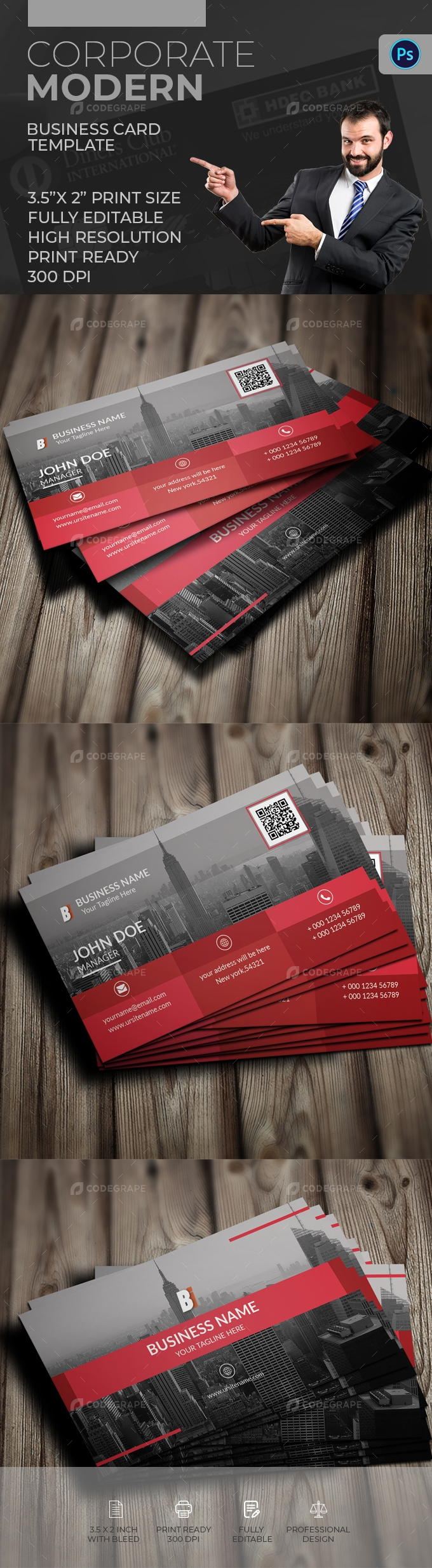 Corporate Business Card [VOL-17]