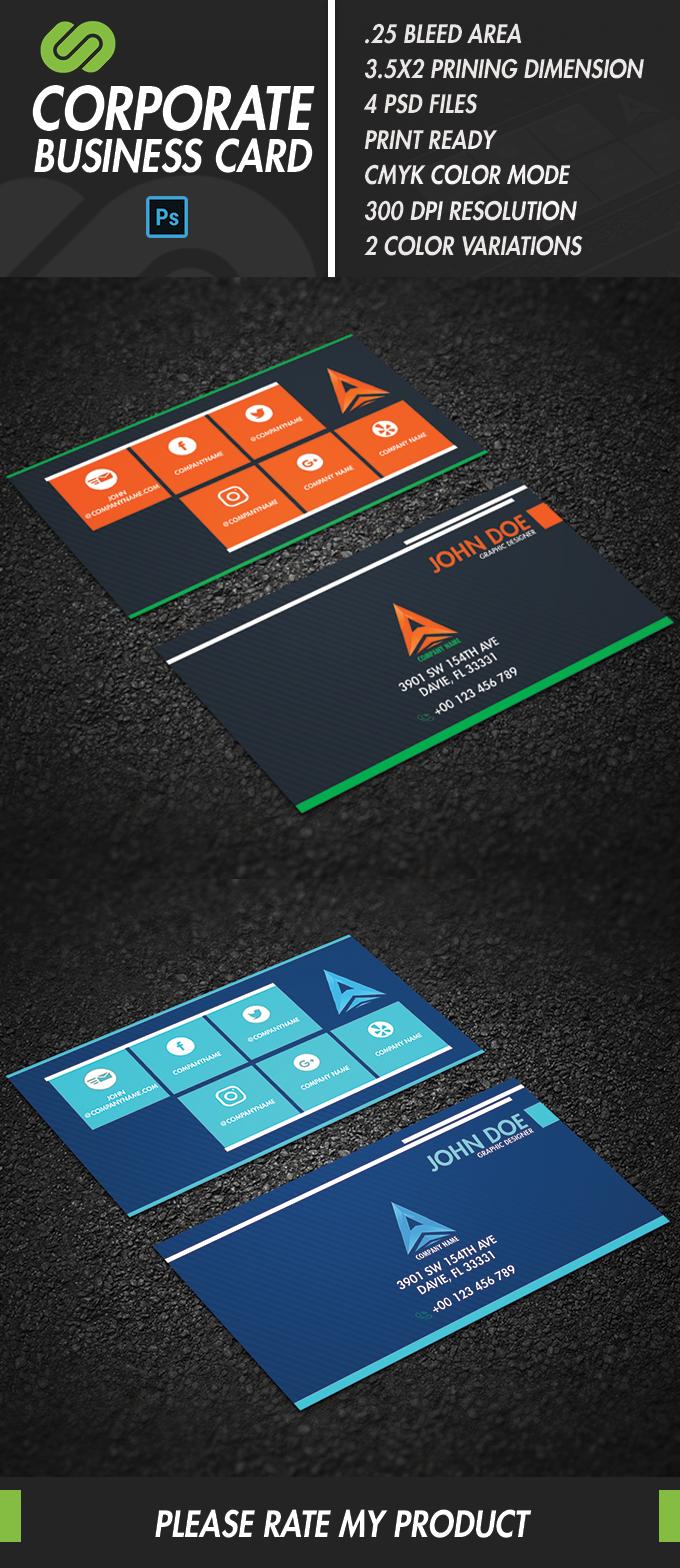 Modern business card print codegrape modern business card reheart Choice Image