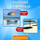Summer Holiday Web Banner