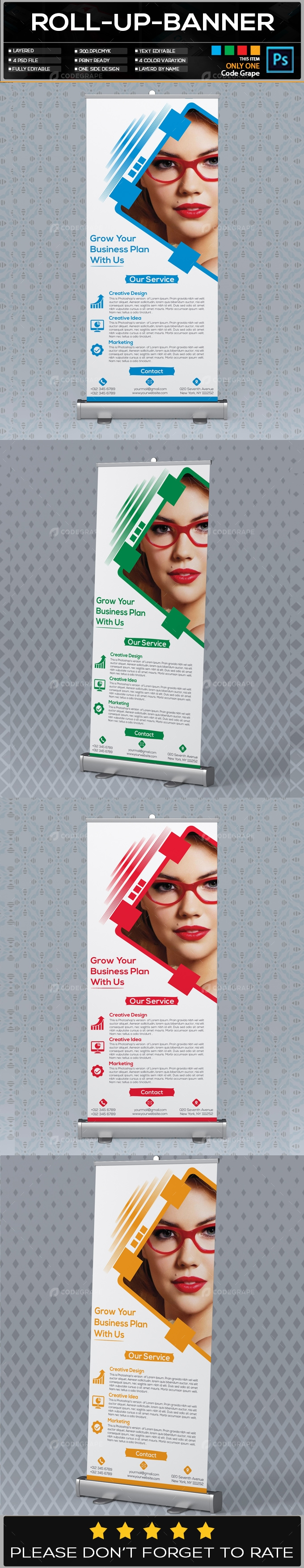 Roll Up Banner Vol - 16