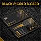 Black & Gold Business Card