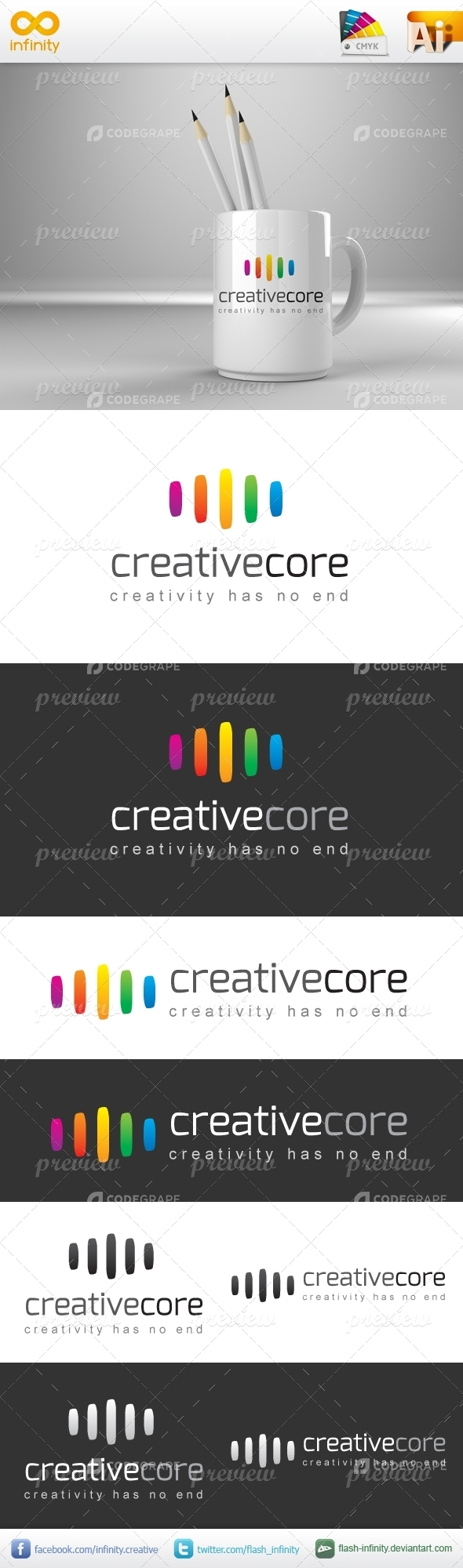 Creative Core Logo