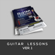 Guitar Lessons v1 Flyer
