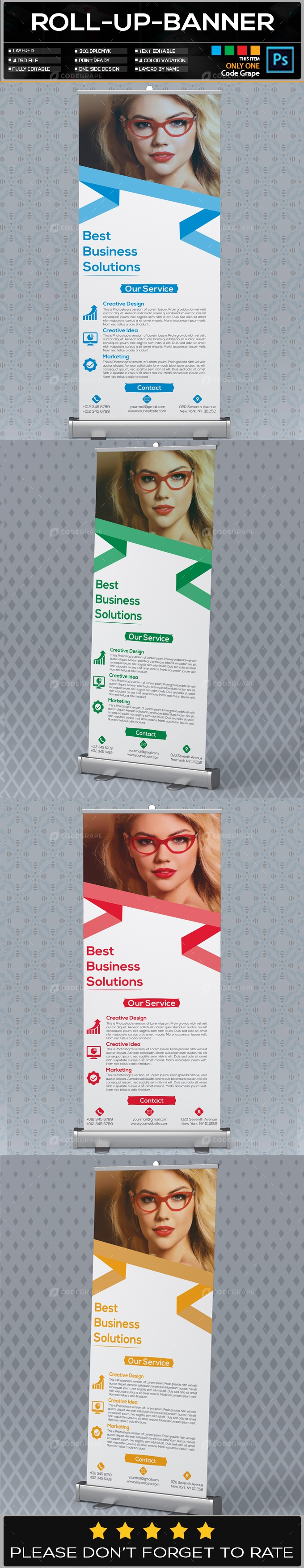 Roll Up Banner Vol - 18