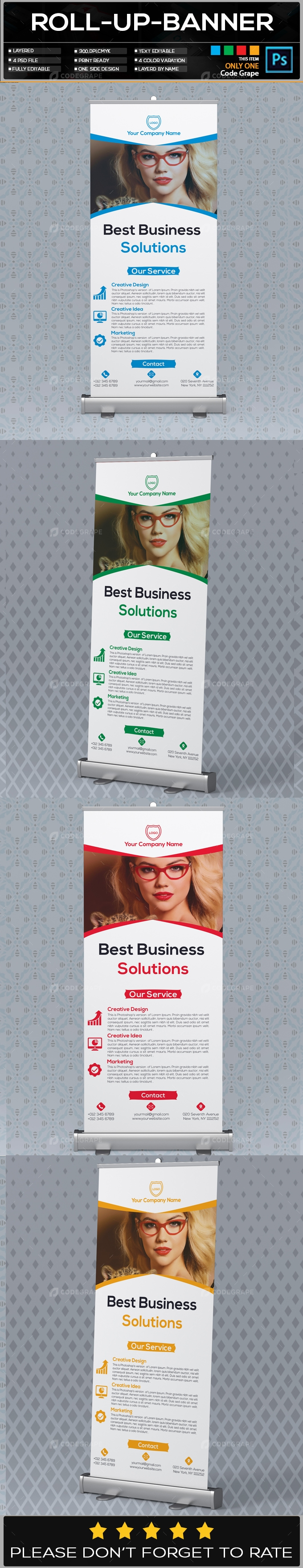 Roll Up Banner Vol - 20