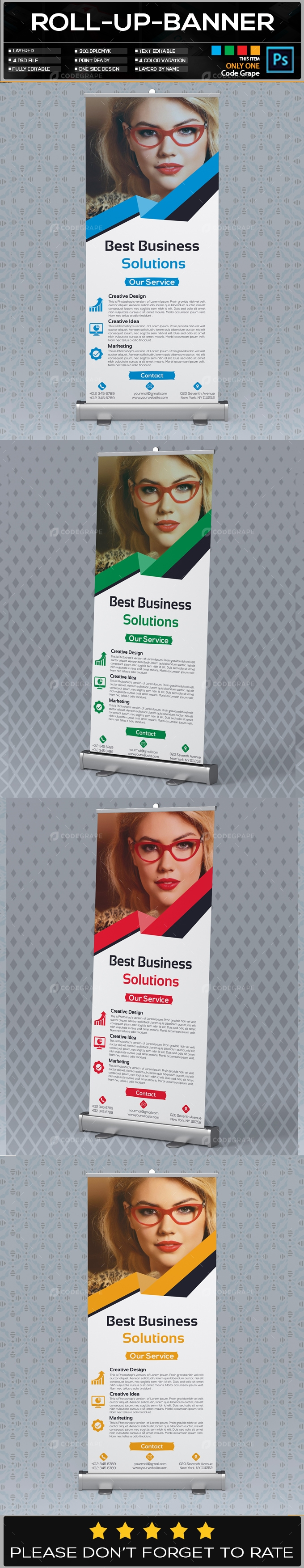 Roll Up Banner Vol - 21