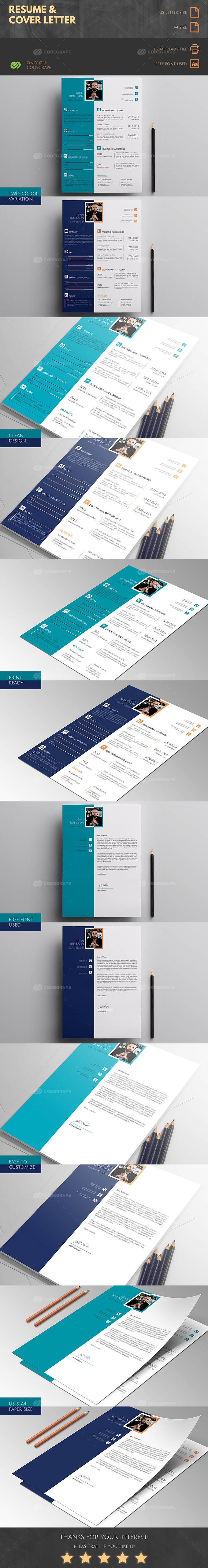 Resume & Cover Letter Design
