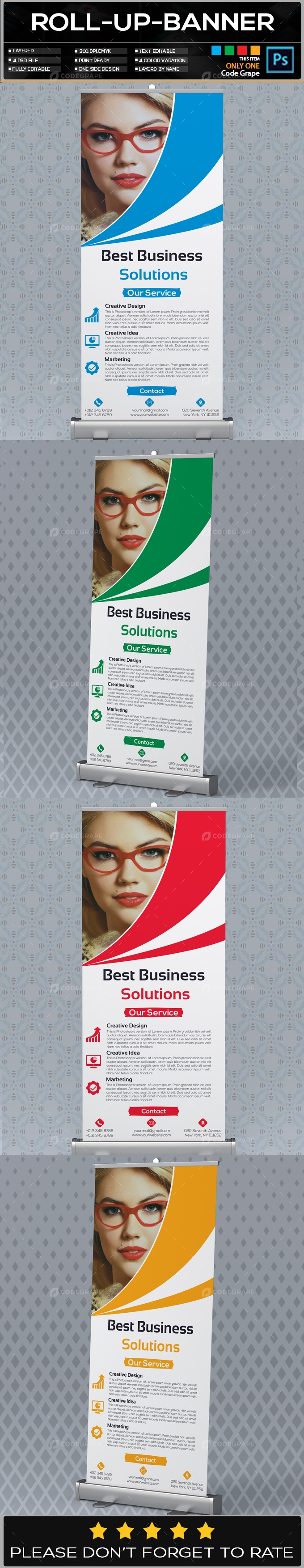Roll Up Banner Vol - 25
