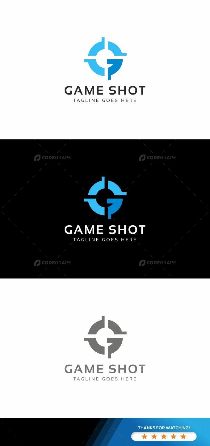 Game Shot G Letter Logo
