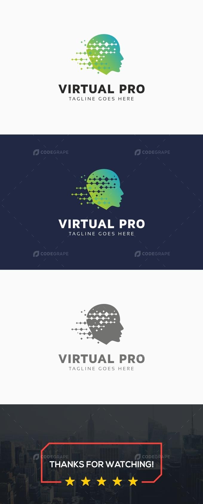 Virtual Pro Logo