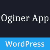 Oginer – Multipurpose & App Landing WordPress Theme