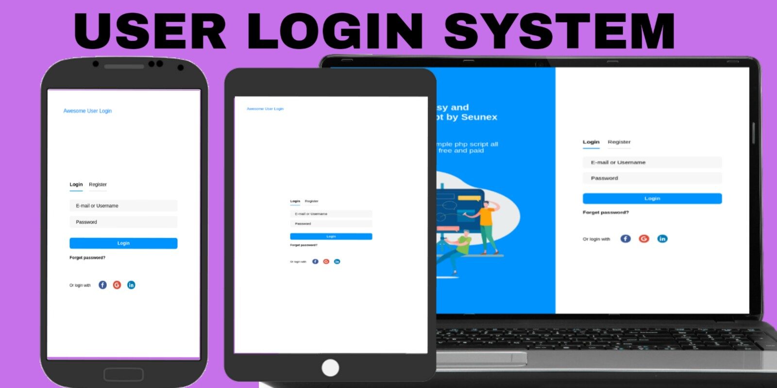 Awesome User Login System