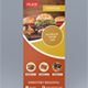 Food Roll-up Banner Design