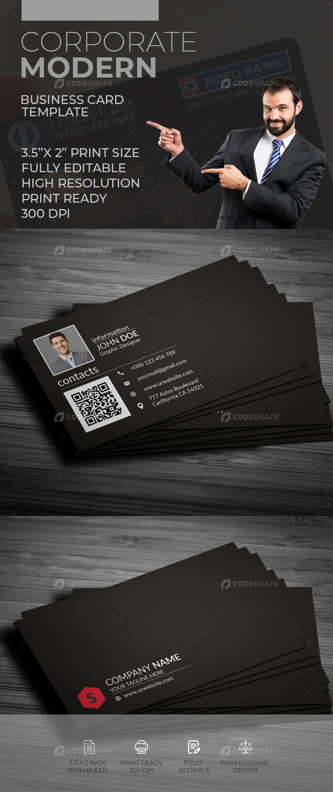 Corporate Business Card [VOL-19]