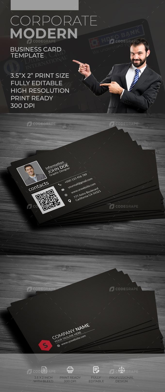 Corporate Business Card [VOL-19]