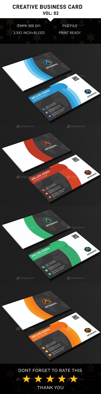 Creative Business Card (Vol: 02)