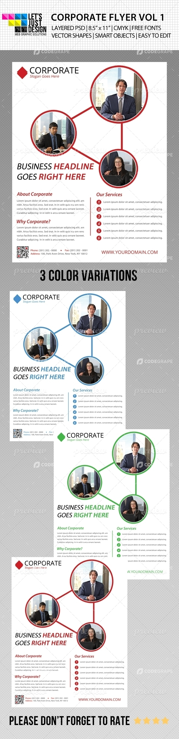 Corporate Flyer Vol 1