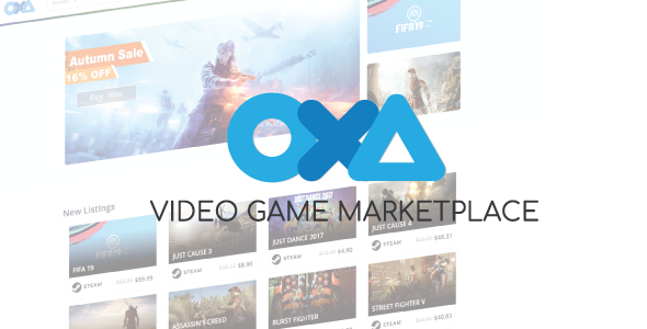 OXA - Video Game Marketplace