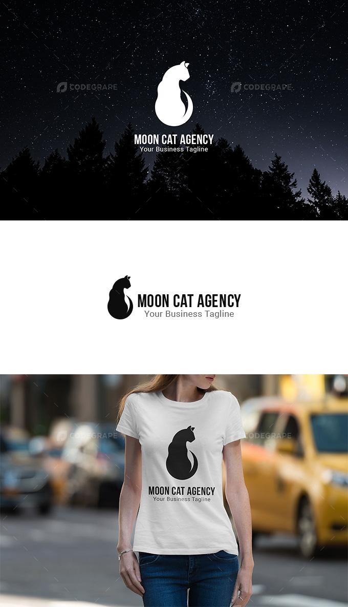 Moon Cat Agency Logo