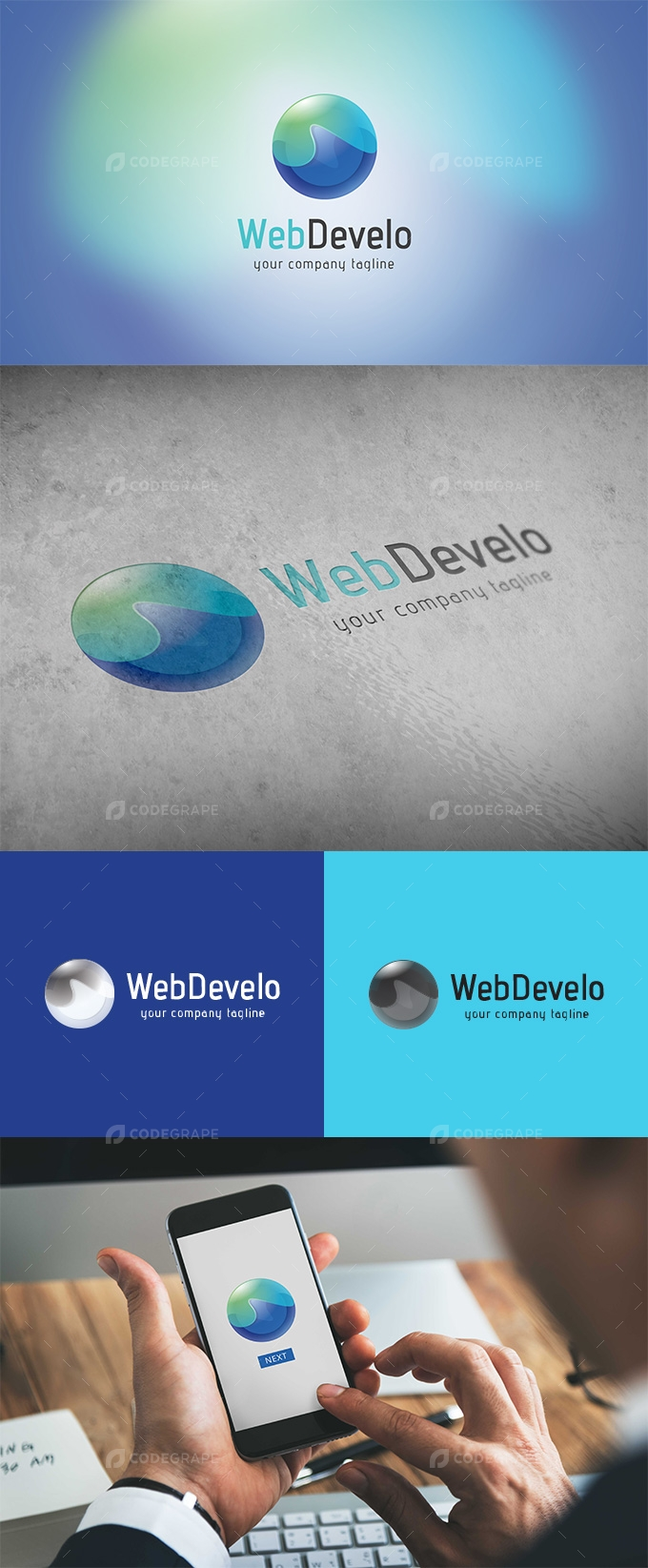 WebDevelo Developer Logo