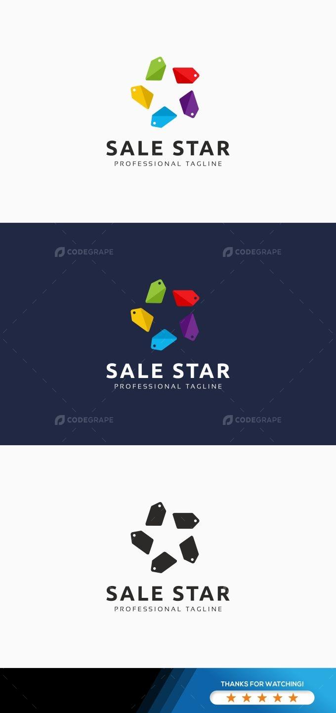 Sale Star logo
