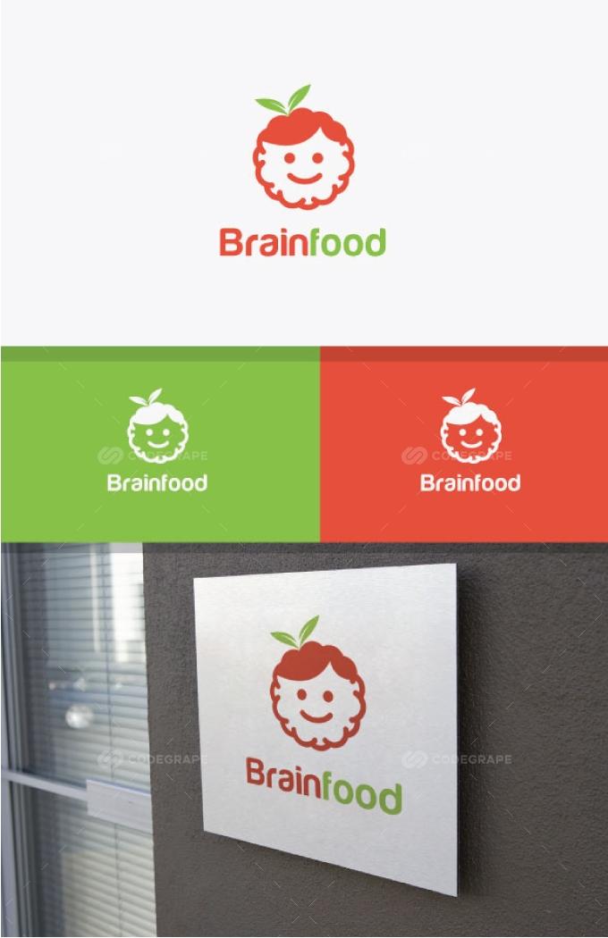 Baby / Brain Food Logo