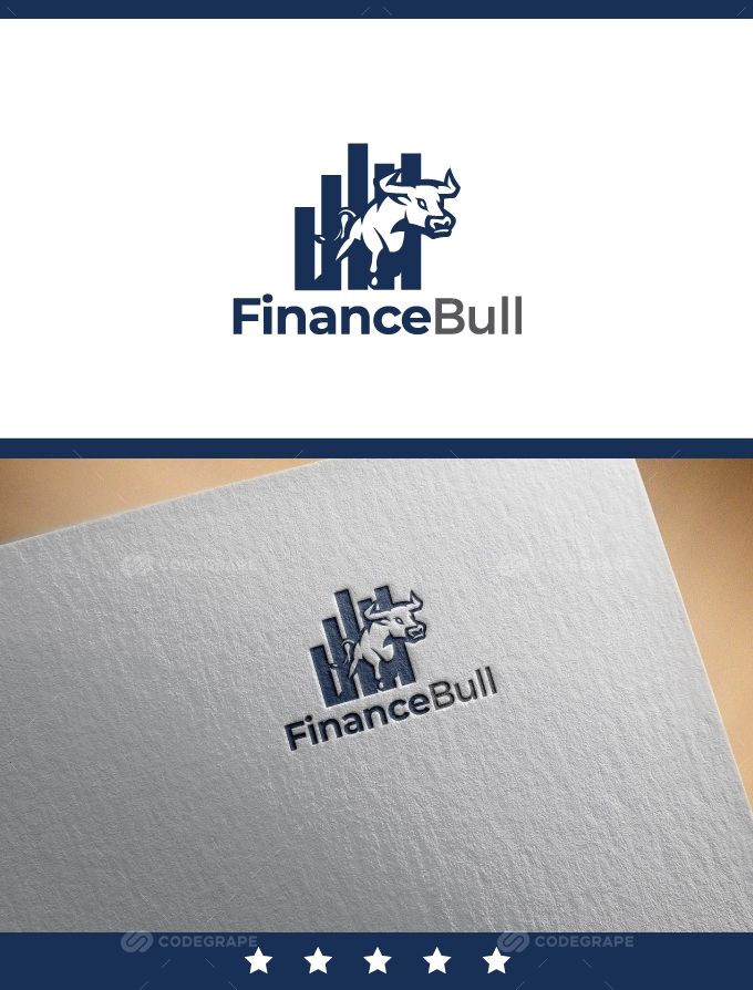Financial Bull Logo
