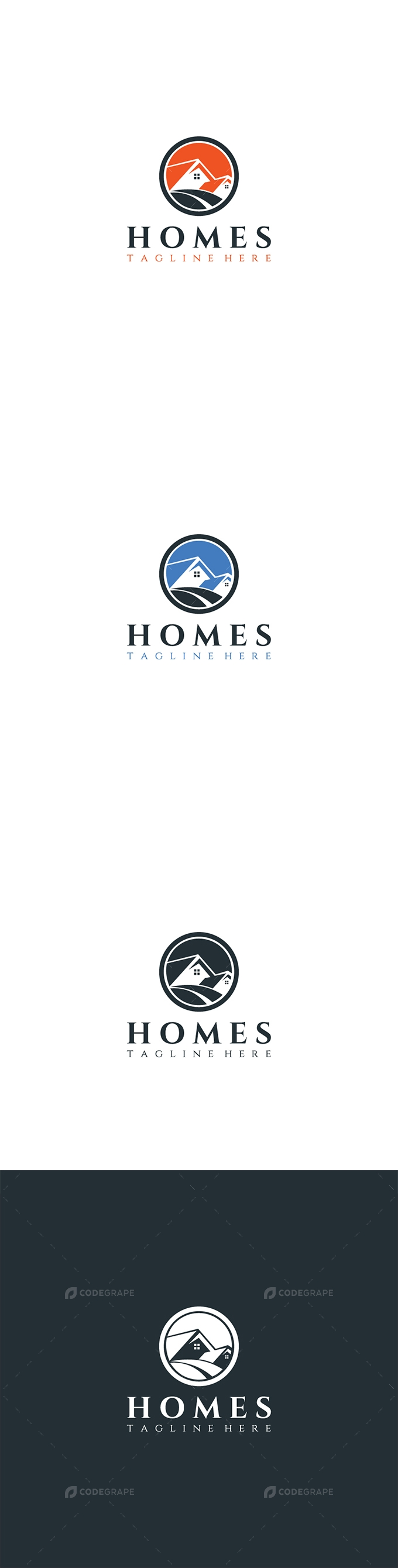 Homes Logo Design