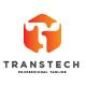 Tech T Logo Design