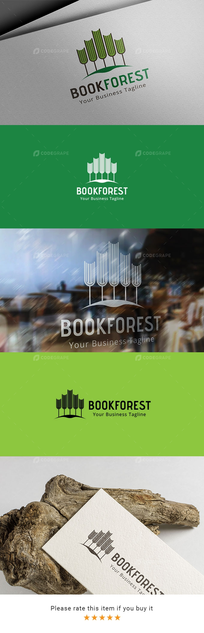 Book Forest - Store Logo