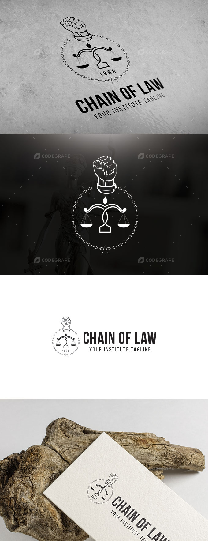 Chain of Law - Company Logo