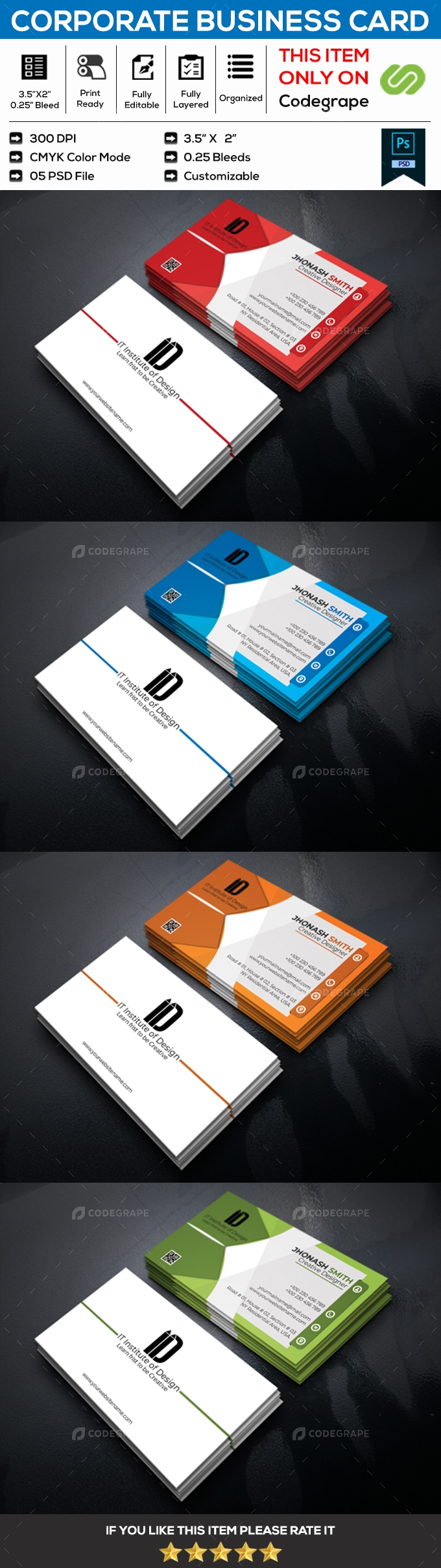 Corporate Business Card