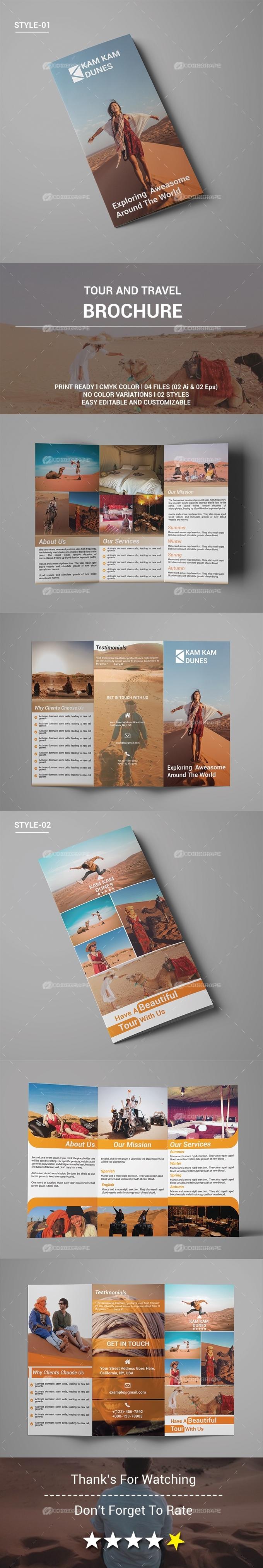 Tour & Travel Brochure