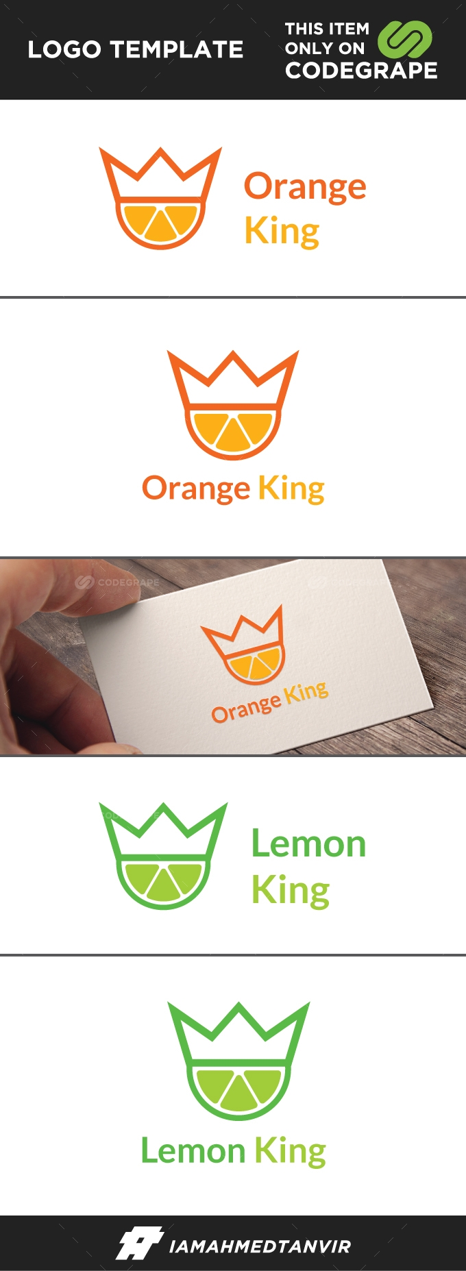 Orange King or Lemon King