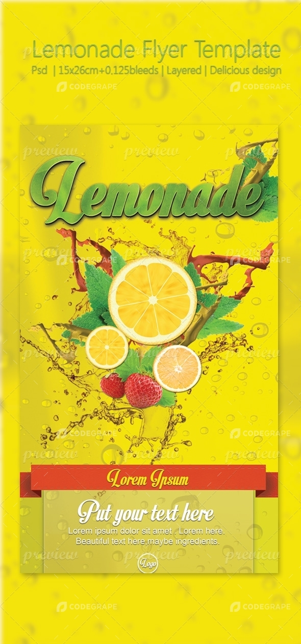 Fresh Lemonade Flyer