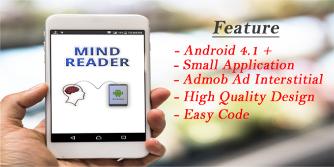 Mind Reader with Admob (Android Studio Project)