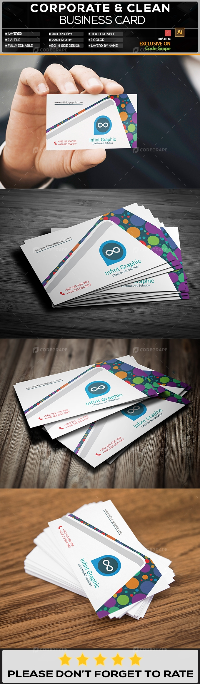 Creative Business Card 1 Sided