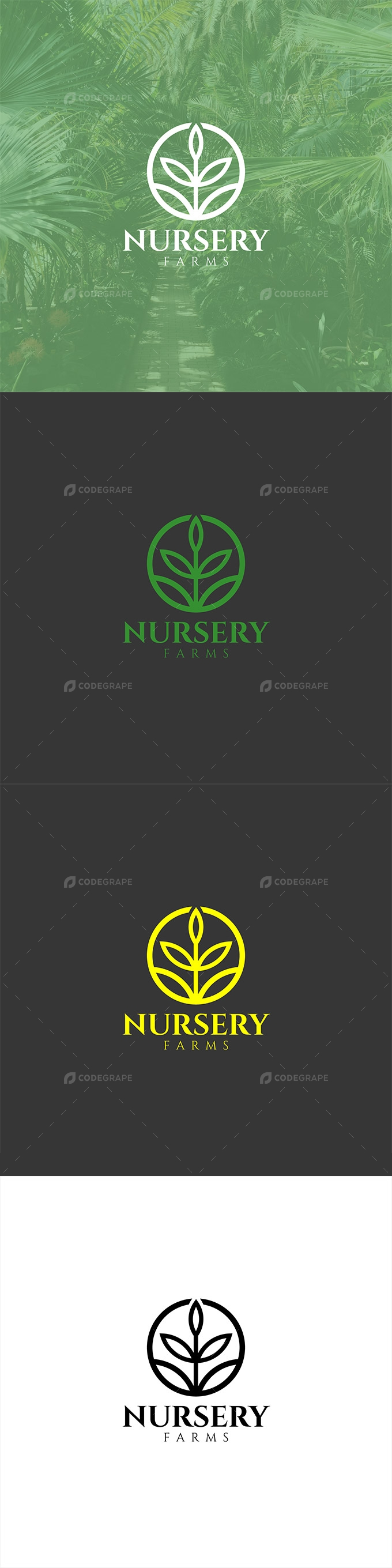 Nursery Farms Logo Design
