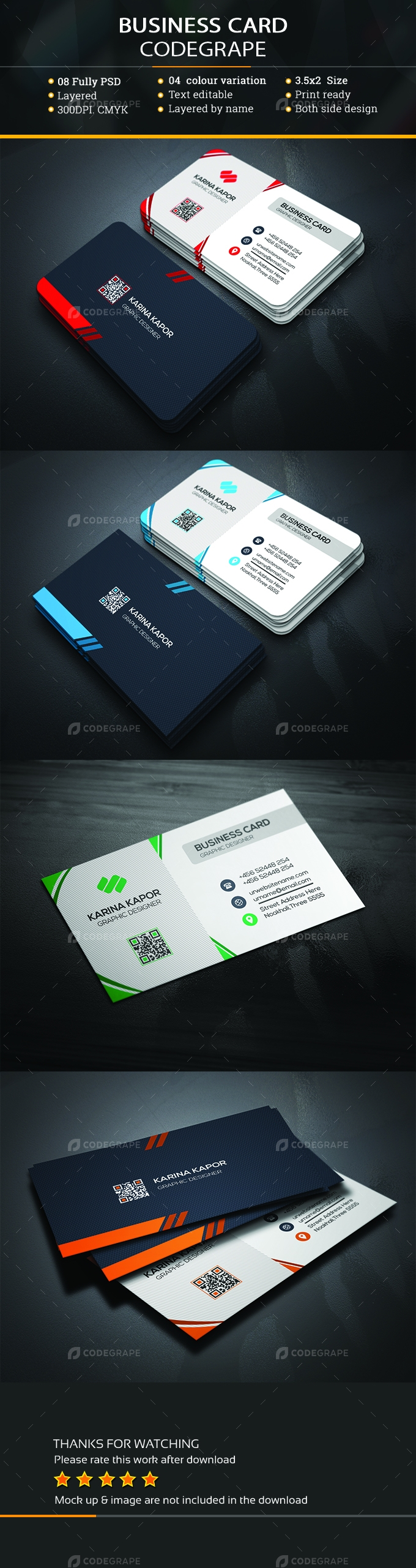 Robles Business Card