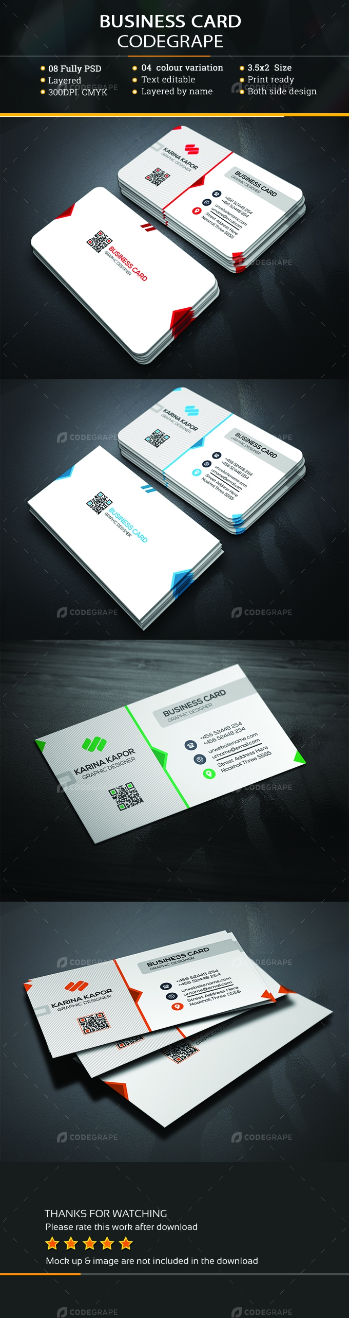 Easy Business Card