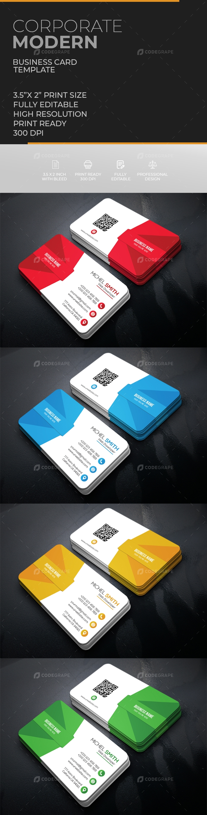 Corporate Business Card [VOL-20]