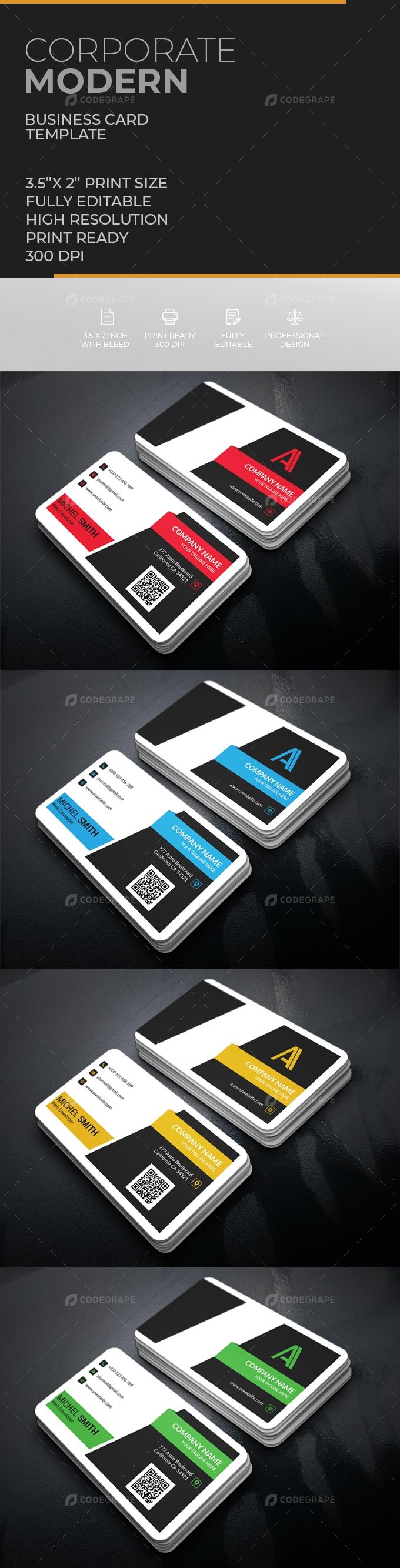 Corporate Business Card [VOL-21]