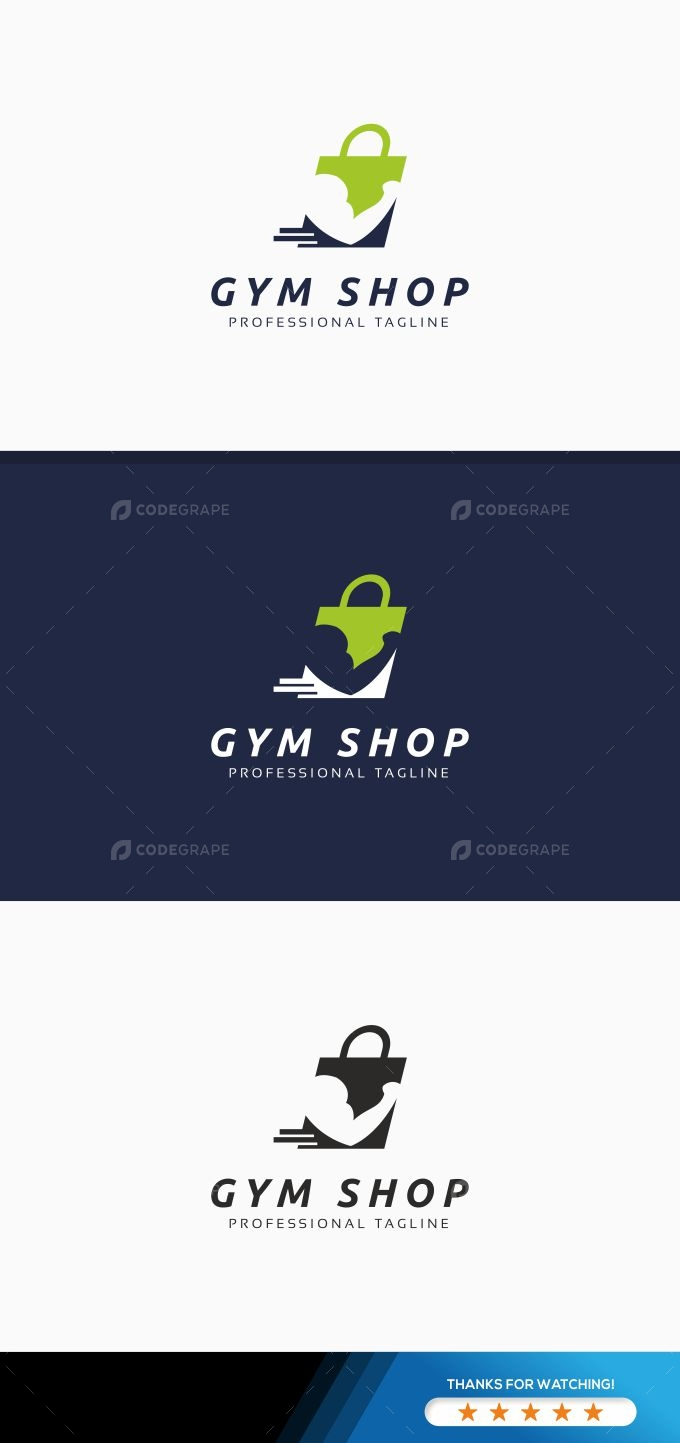 Gym Shop Logo