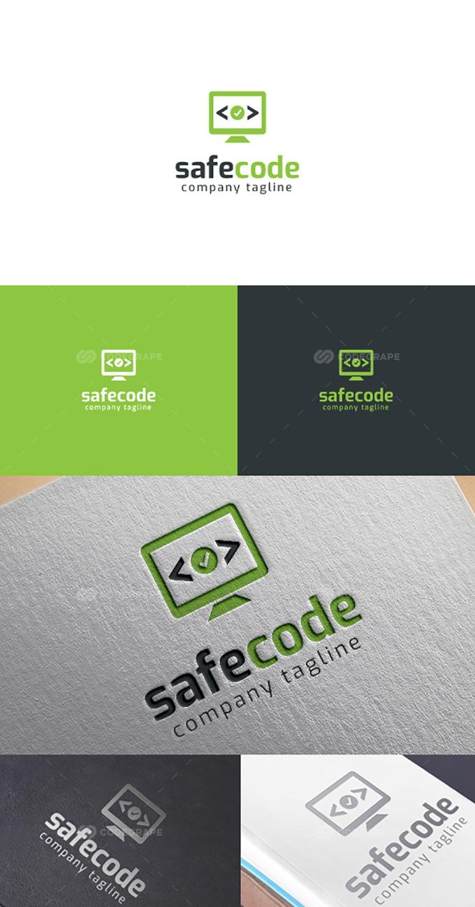 Safe Code Logo