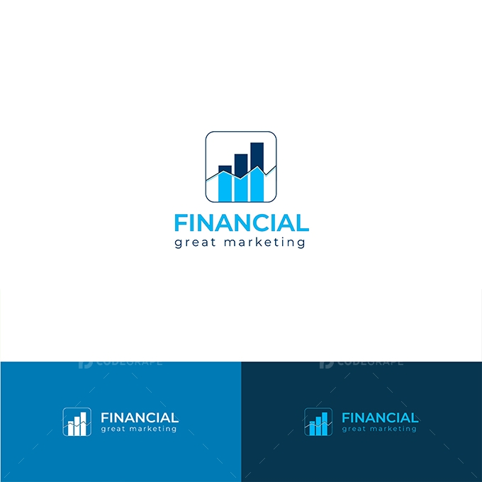 Financial Marketing Logo