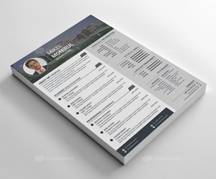 100 Open Office Resume Templates with Extended License - Only $19